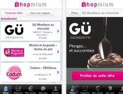 application gratuite shopmium pour iphone