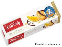 biscuit kambly orange intense rembours'