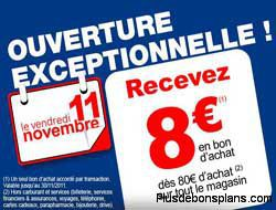bon de réduction 8 euros carrefour