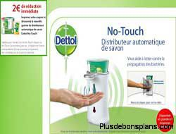 bon de reduction distributeur automatique de savon dettol