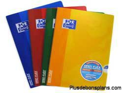 cahier open flex oxford