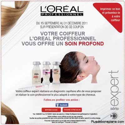 soin cheveux gratuit by loreal professionnel